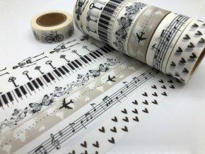 Ozdobné papírenské pásky
