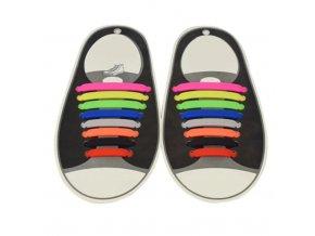 Silikonové tkaničky do bot