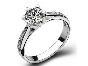Dámský prstýnek s kamínky - různé druhy