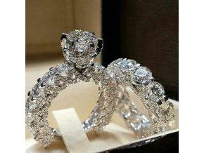 Dámský prstýnek s kamínky SHINE