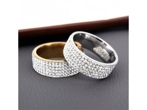 Svatební prstýnky s kamínky WEDDING
