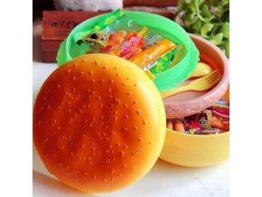 Svačinový box hamburger