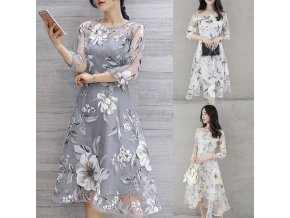 Dámské šaty s květinami RITA