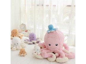 Plyšová hračka chobotnice