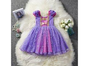Dětské šaty pohádková princezna