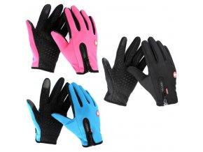 Protiskluzové voděodolné rukavice