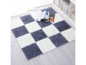 Kusový koberec - Puzzle