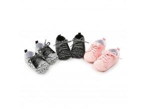 Dětské boty s tkaničkami