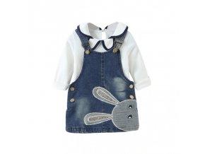 Dětské šaty s veselým motivem