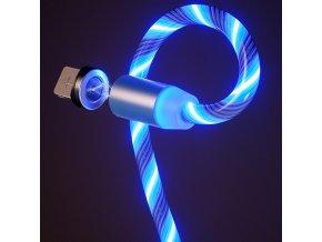 Svítící magnetický kabel
