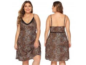 Dámská košilka s leopardím vzorem