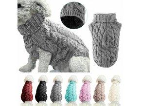 Teplý svetr pro psy