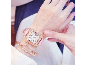 Luxusní set hodinky + náramek