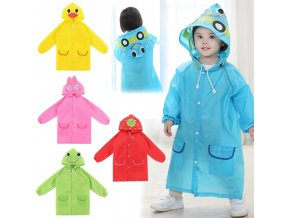 3 main 1pcs cartoon animal style waterproof kids raincoat for children rain coat rainwear rainsuit student animal style raincoat
