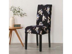 Barevný potah na židli