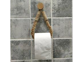 Přírodní držák na toaletní papír