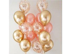 Set narozeninových balónků - 10 kusů