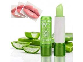 0 main 1pc moisture lip balm long lasting natural aloe vera lipstick color mood changing long lasting moisturizing lipstick anti aging