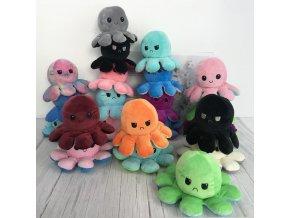 Plyšová chobotnice měnící obličej