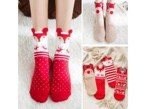 Vánoční ponožky CHISTMAS