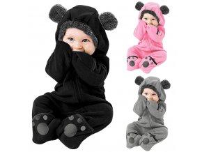 Dětská kombinéza medvídek BEAR