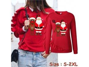 Vánoční mikina SANTA + SOB