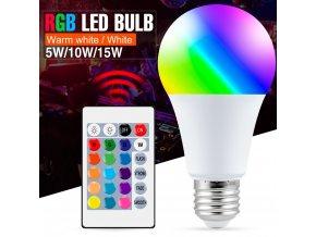 0 main e27 smart control lamp led rgb light dimmable 5w 10w 15w rgbw led lamp colorful changing bulb led lampada rgbw white decor home