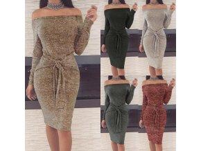 Dámské dlouhé šaty