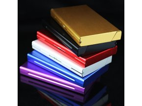 Módní dámské pouzdro na tenké cigarety SLIM - 6 barev (Barvy stříbrná)