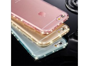 Obal na iPhone s krystaly - SLEVA 65%