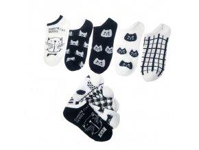 roztomile kocici ponozky