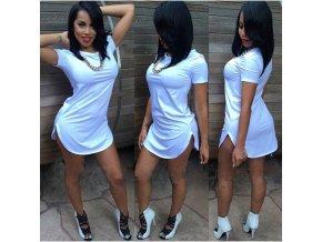 Dámské šaty s krátkým rukávem Rebecca
