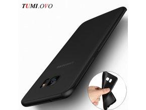 Černý silikonový obal na Samsung