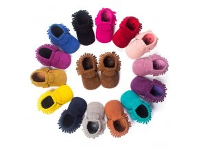 PU Suede Leather Newborn Baby Boy Girl Baby Moccasins Soft Moccs Shoes Bebe Fringe Soft Soled.jpg 640x640