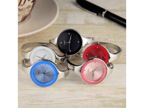 Dámské módní hodinky (barva růžová)