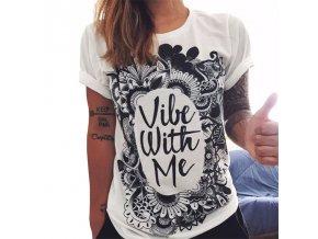 Dámské tričko s krátkým rukávem