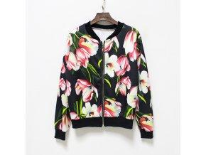 Dámská květová bunda