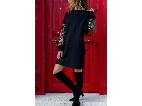 dámské zimní stylové šaty