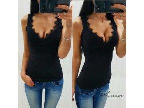 Dámský top Camila (barva Bílá, Velikost S)