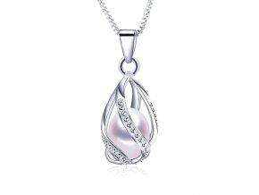 náhrdelník s perličkou