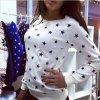 Dámský svetr s dlouhým rukávem (barva růžová, Velikost XL)