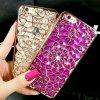 Stylový obal na iPhone s kamínky - SLEVA 75%