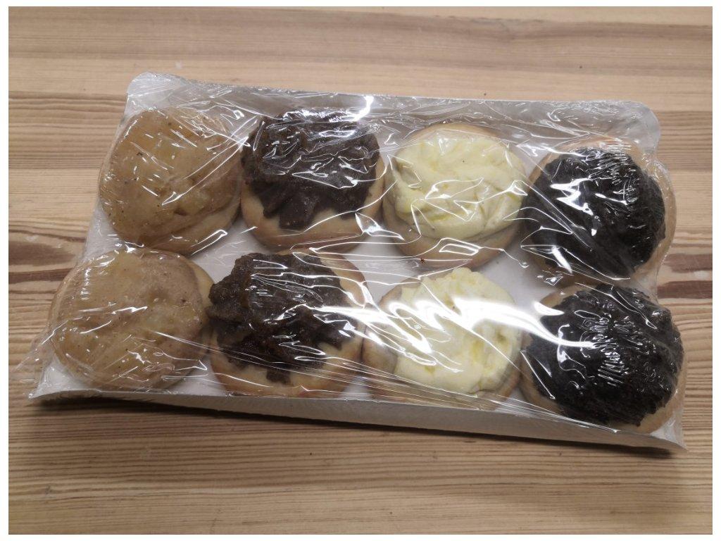 Nekynuté koláčky 8 ks (pekárna Povrly)