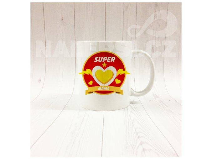 SUPERMÁMA žluté srdce