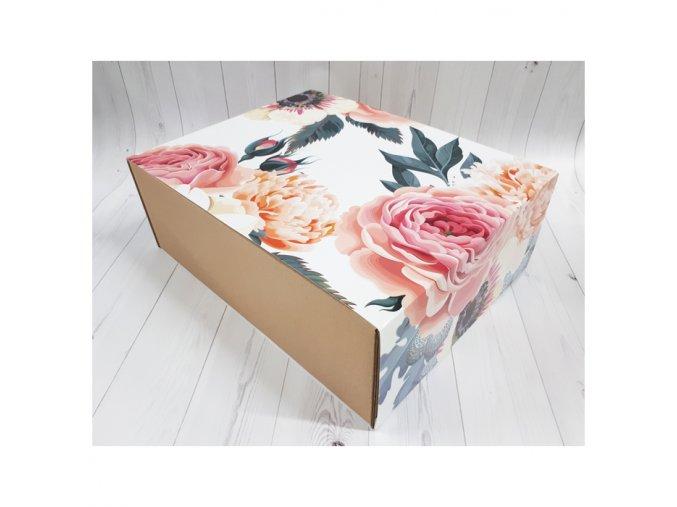 Krabička květiny