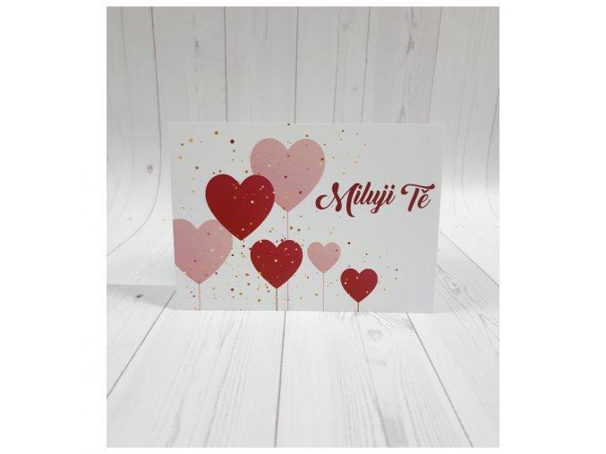 Miluji Tě karta_Love