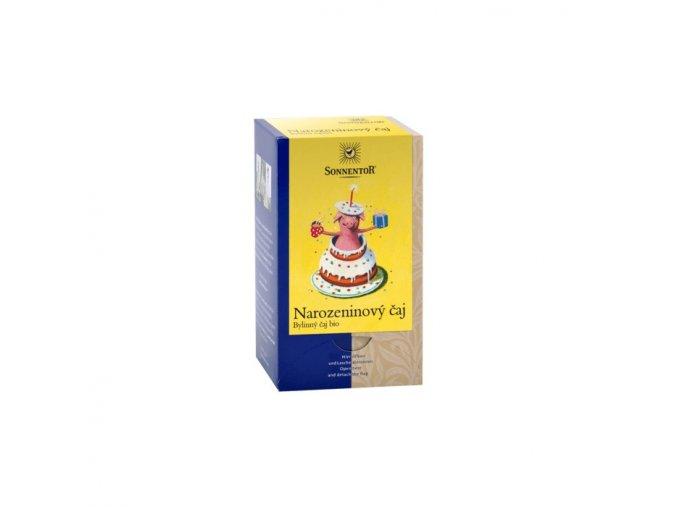 Narozeninový čaj