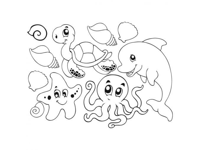 omalovánky - Vodní svět