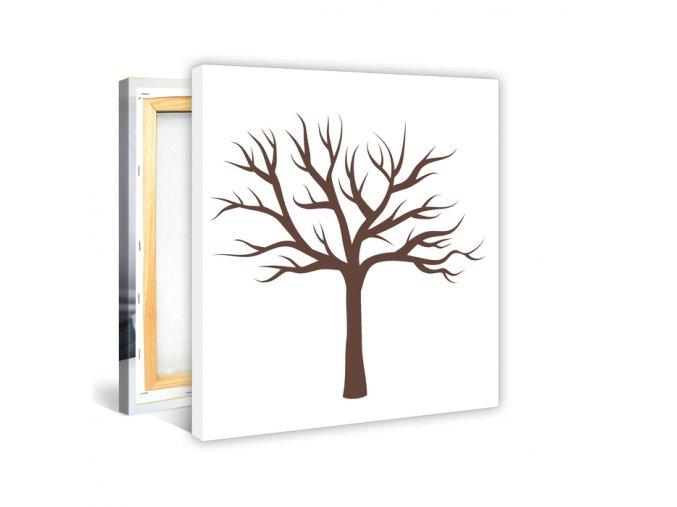 Strom s otisky prstů 60x50cm