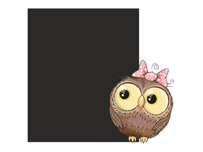 Tabule sovička holčička